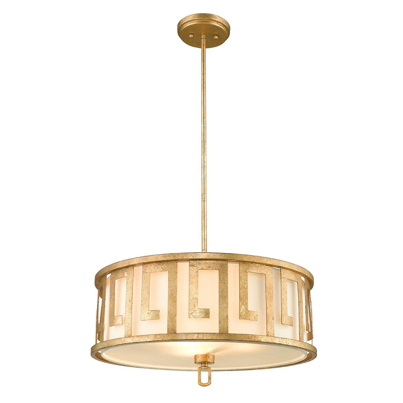 Deckenleuchte AIROSO Weiß kürzbar Vintage Lampe