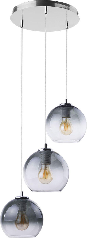 Pendelleuchte KARMUDI Chrom Graphit Esstisch Lampe