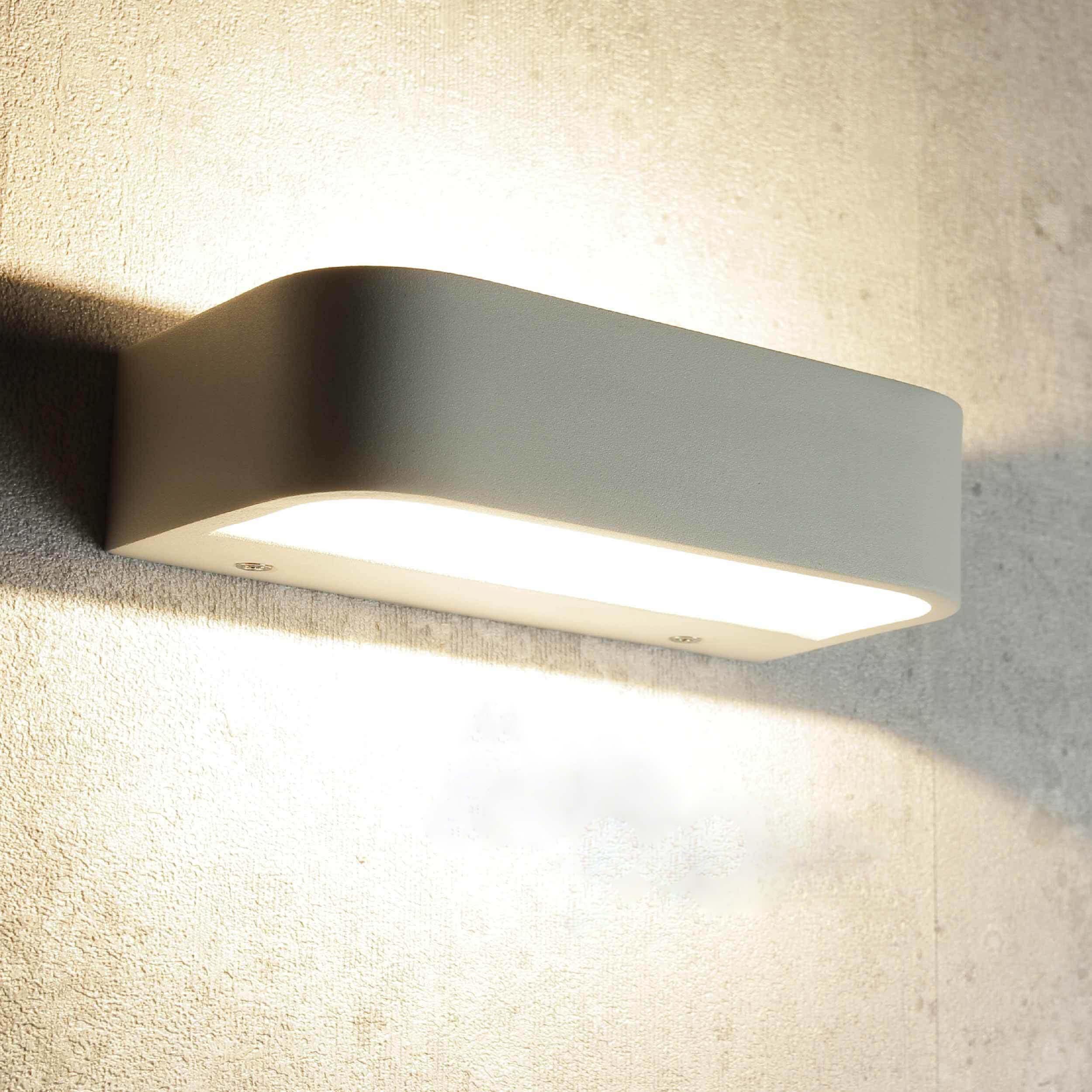 Moderne LED Wandleuchte Wohnzimmerlampe GESS