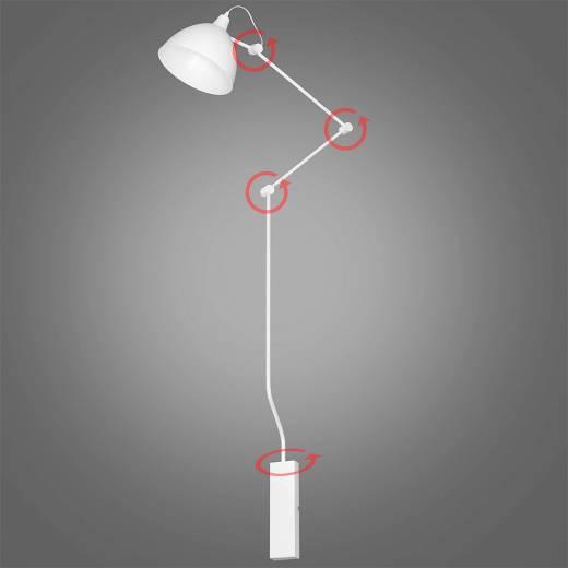 Flexible Wandleuchte AIDA Design Moderne Leuchte