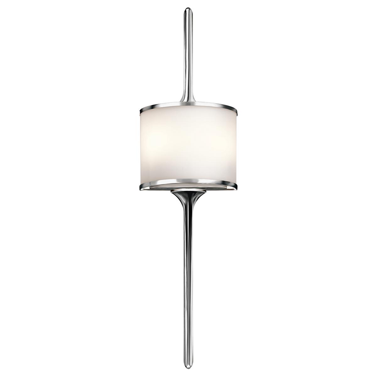 Wandleuchte Bade ARYA Chrom B:20cm Bad Lampe