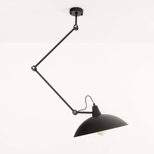 Schwarze Deckenlampe Wohnzimmer Leuchte Decke