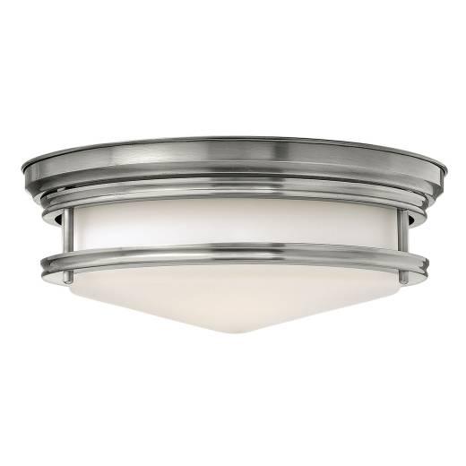 Deckenleuchte COBAN Nickel Ø36cm Jugendstil Lampe