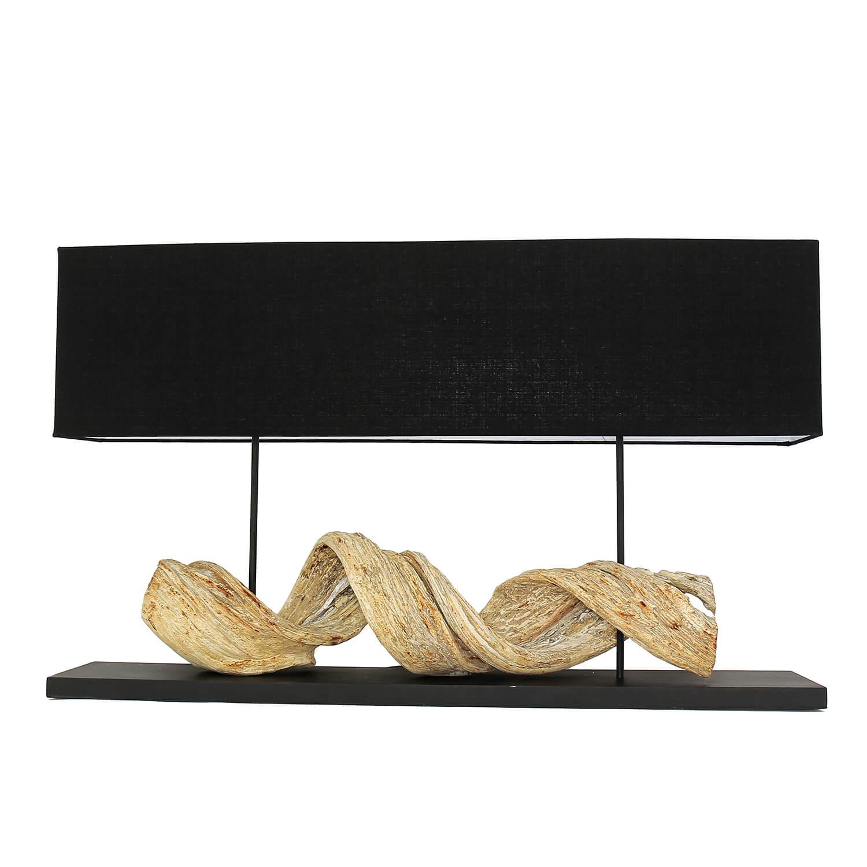 Design Tischlampe Treibholz 100 cm lang HUA HIN