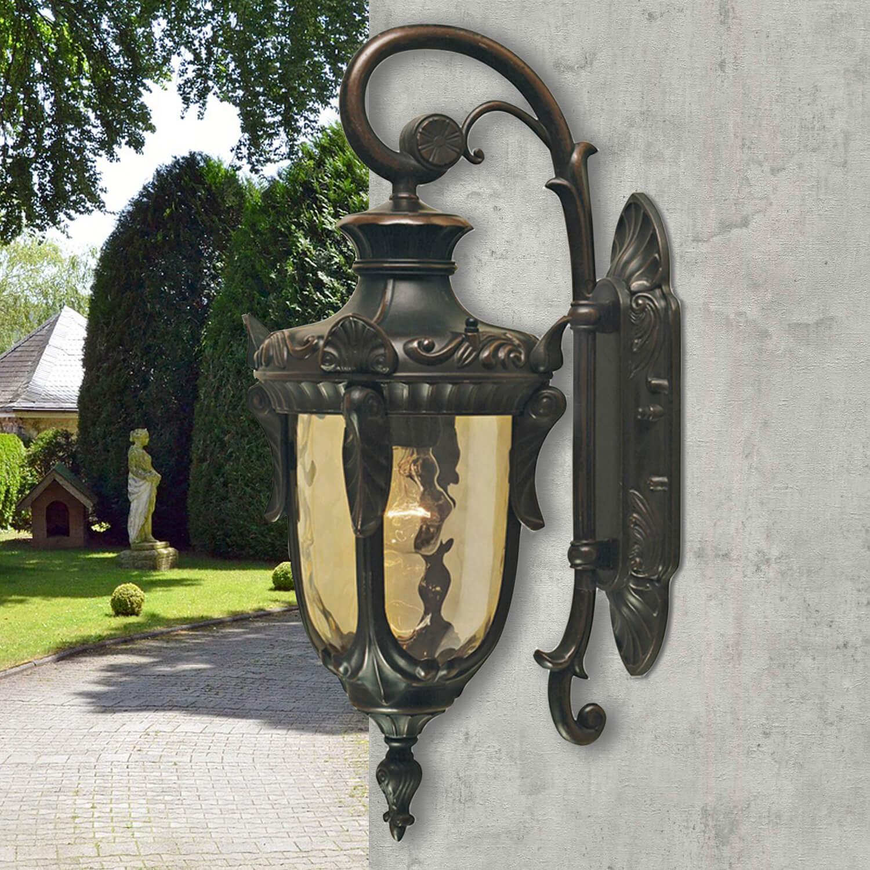 Wandlampe Außen in Bronze Rustikal IP44 Haus Hof