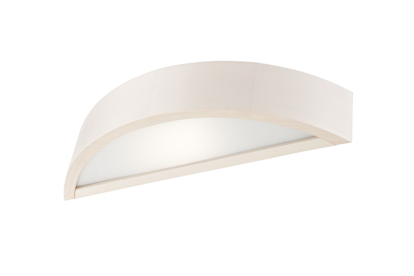Wandlampe Weiß 40cm Holz Modern vielseitig RUDYARD