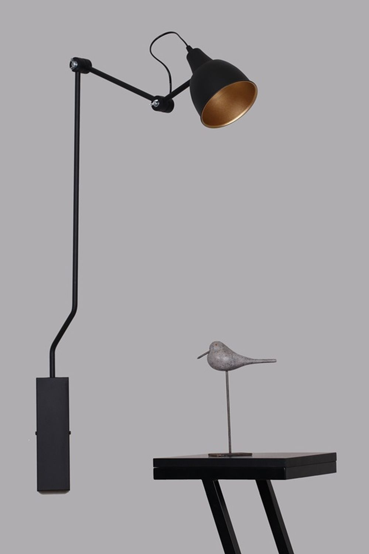 Wandlampe Schwarz Modern Design Leselampe Wand