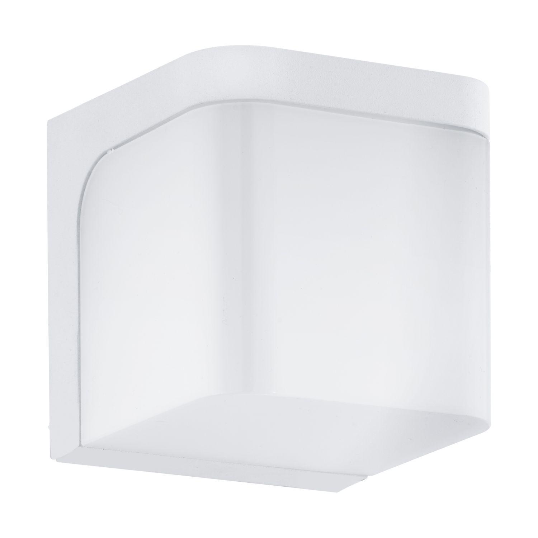 Wandleuchte LED Außen Jorba Weiß