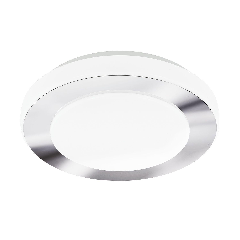 Runde Deckenleuchte LED Carpi Chrom Ø30cm