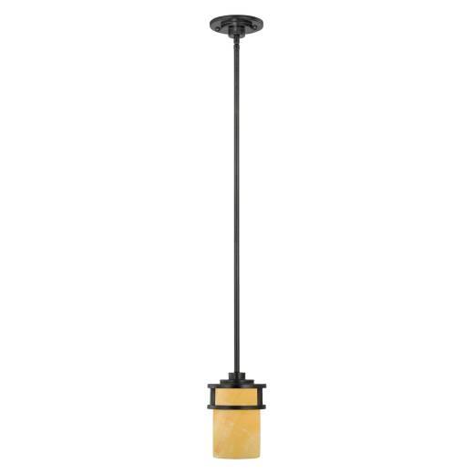 Deckenleuchte LAPIDE Gelb Schwarz kürzbar Lampe