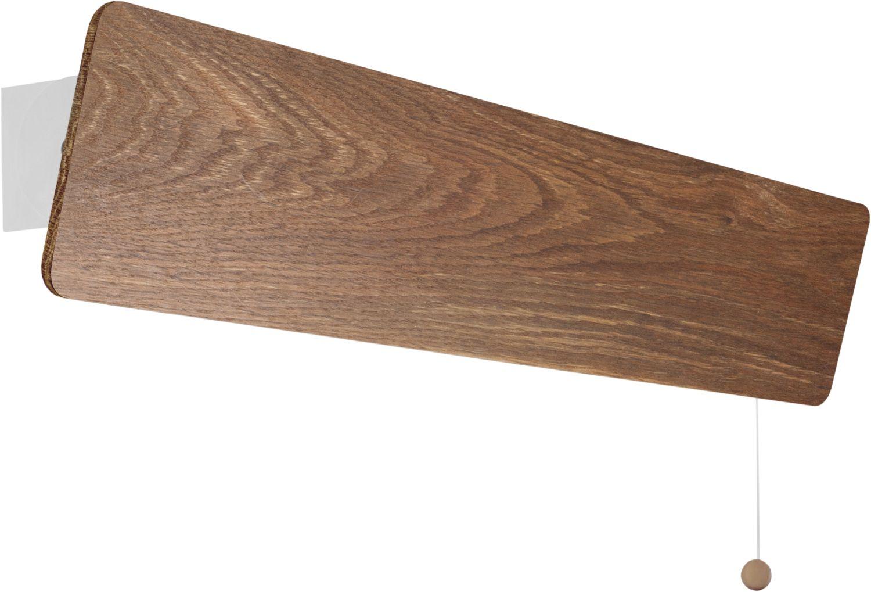 LED Wandleuchte Holz Oslo