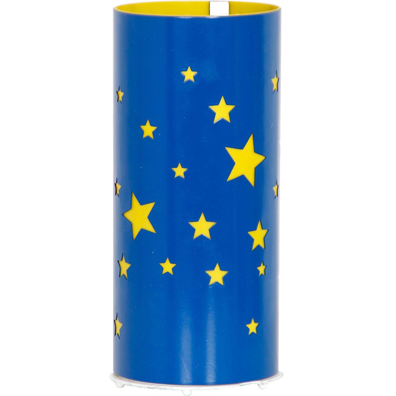 Tischlampe ARDA Ø10cm niedlich Kinderlampe Blau