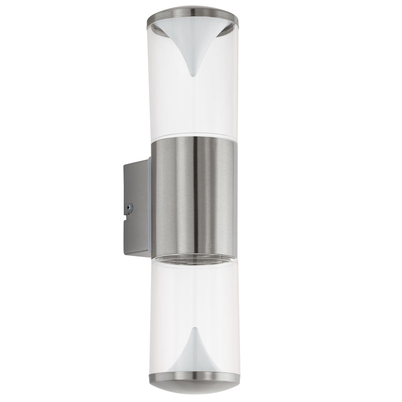 Wandaußenleuchte LED  Penalva Edelstahl 2-Flmg