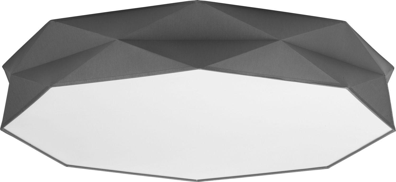 Deckenleuchte Schwarz Stoff Prima Wohnzimmer Lampe