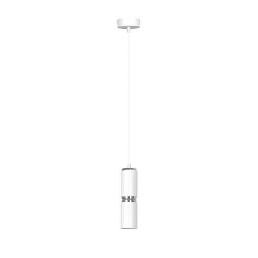 Pendelleuchte Weiß Modern Zylinder verstellbar E27