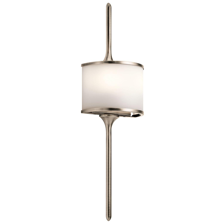 Wandlampe Bad Zinn B:17cm IP44 Bad Leuchte ARYA