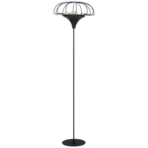 Stehlampe DANTON Industrie Wohnraum Deckenfluter