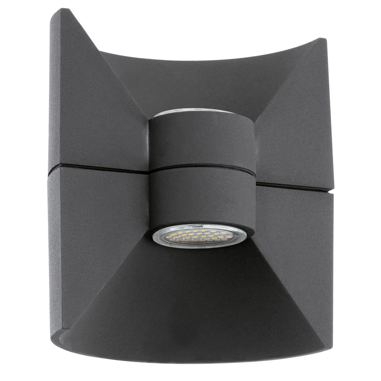 Wandleuchte LED Außen Redondo Anthrazit 2-Flmg