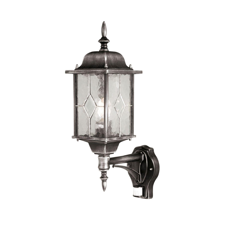 Außenwandlampe mit Bewegungsmelder Vintage Design