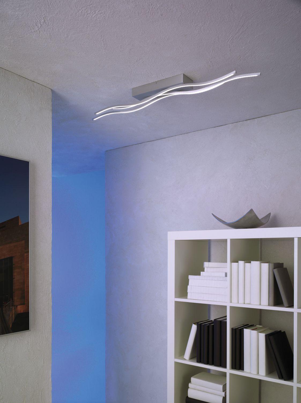 Escale - 40180009 Außergewöhnliche LED Deckenlampe hell dimmbar SILK