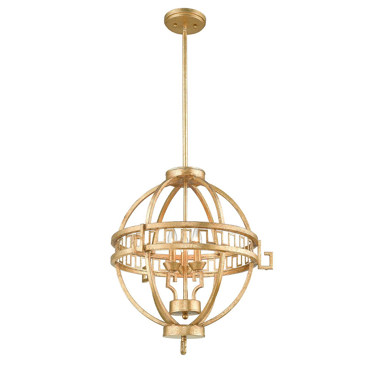 Deckenleuchte AIROSO Ø57cm kürzbar Vintage Lampe