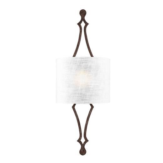 Wandlampe CARO Eisen Antik B:29cm Vintage Leuchte