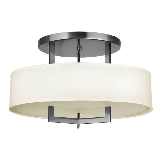 Design Deckenleuchte POLILLA in Nickel Lampe Flur