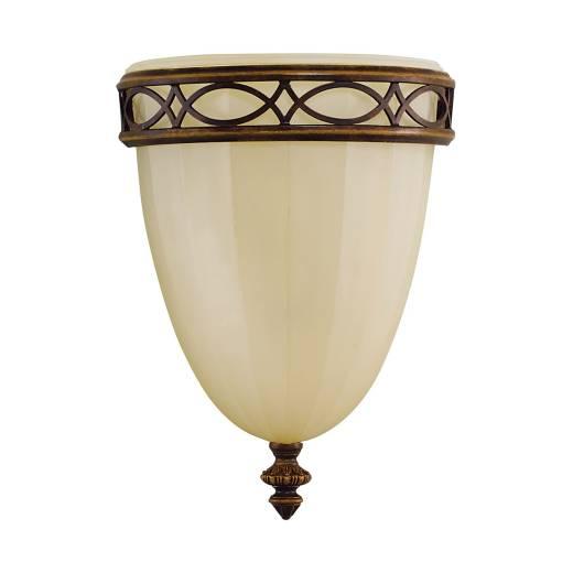 Wandlampe ANABELL 1 Creme Landhaus Design Leuchte