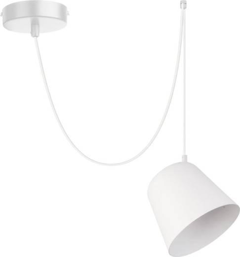 Flexible Hängeleuchte Jawa langes Pendel Weiß