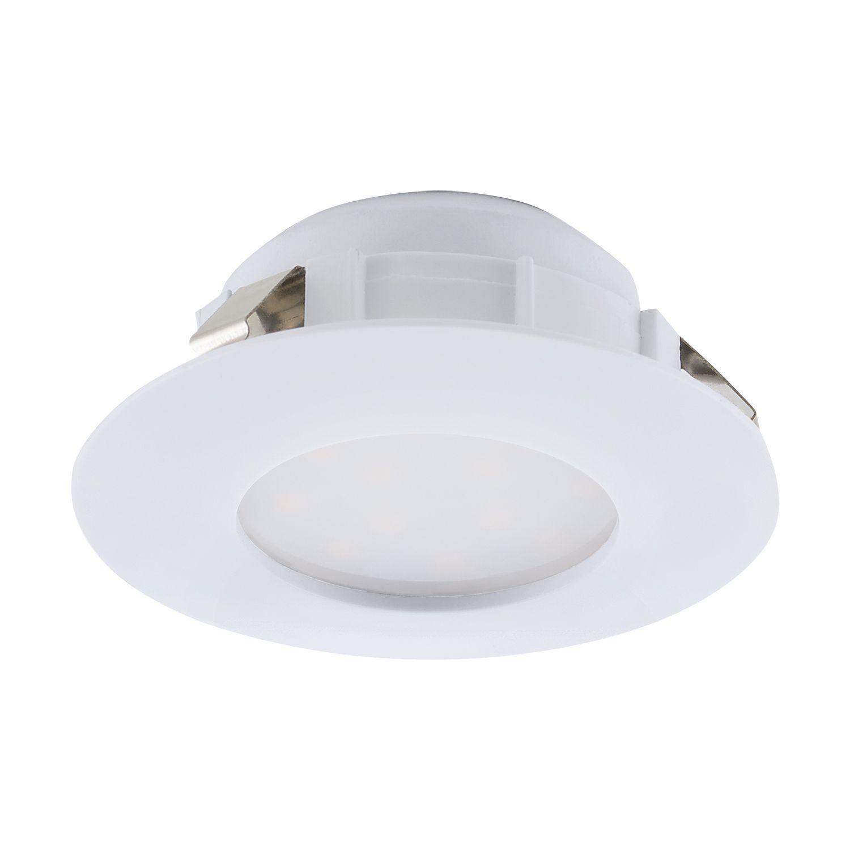 Einbau LED Spotstrahler Pineda Weiß Ø7 8cm