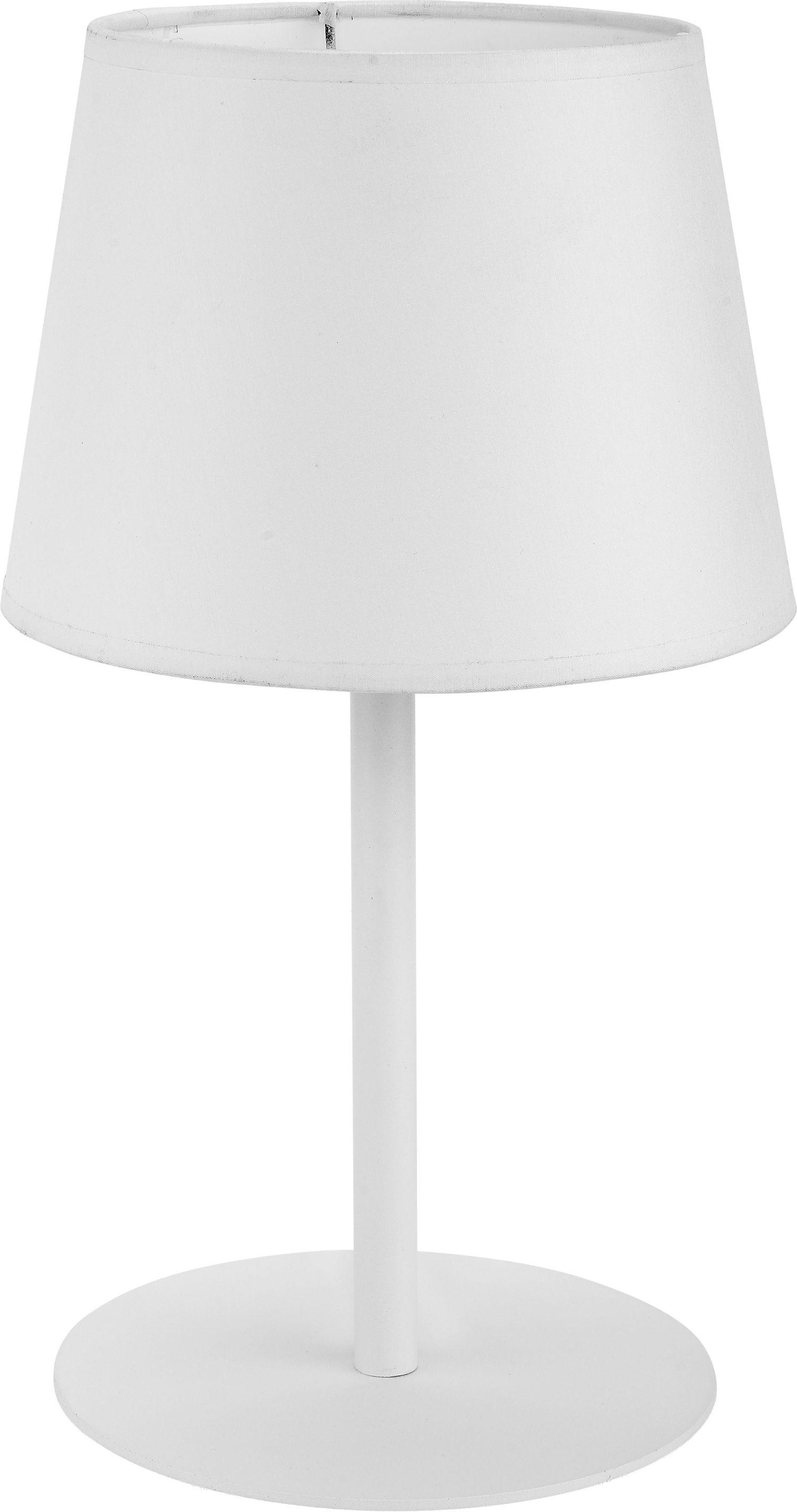 Tischleuchte Maja Weiß Modern