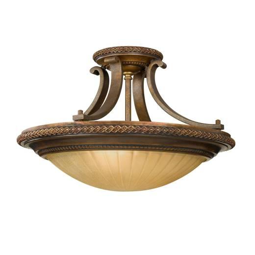 Deckenleuchte ANABELL 5 Bronze Ø46cm Design Lampe