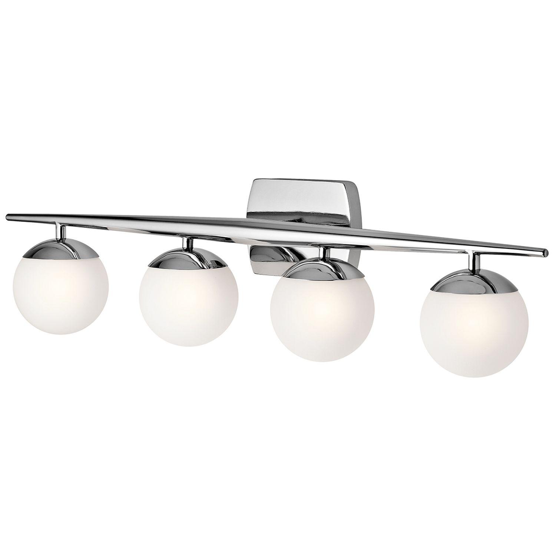 Design Badlampe mit LED groß IP44 spritzwasserdicht