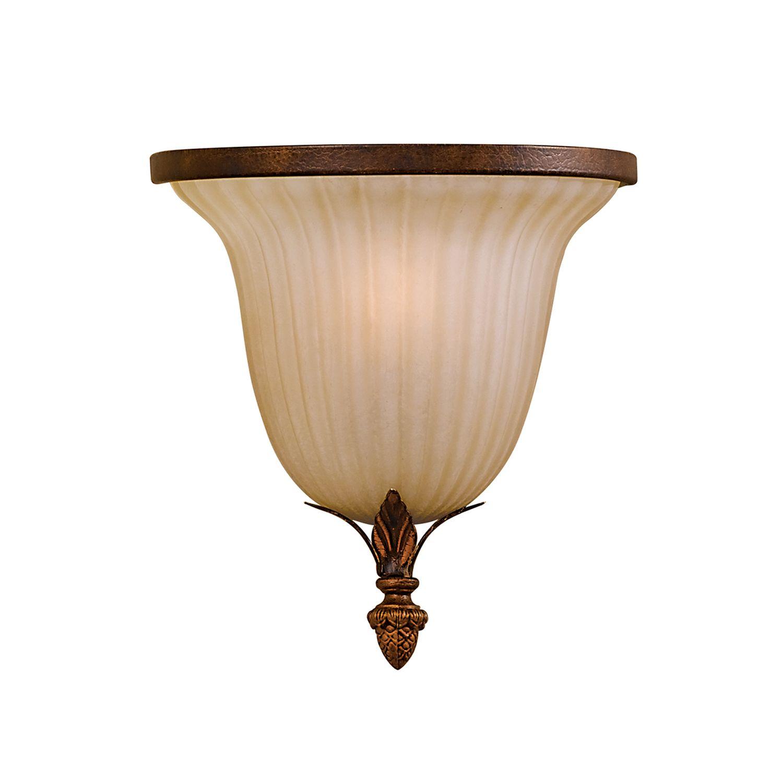 Wandlampe ANABELL 10 in Bronze Porzellan Leuchte