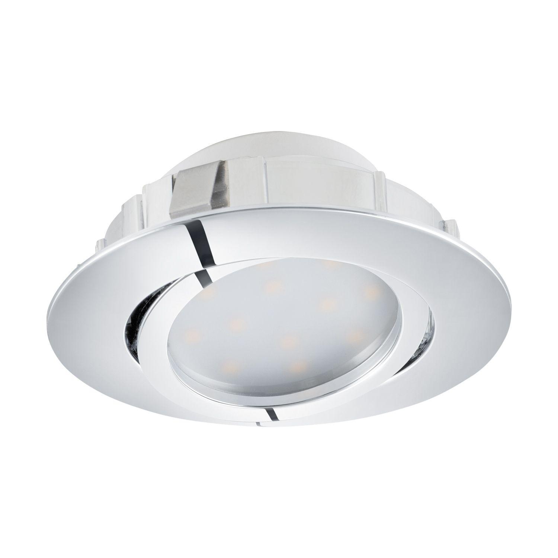 Einbau LED Spotstrahler Pineda Schwenkbar Ø8cm