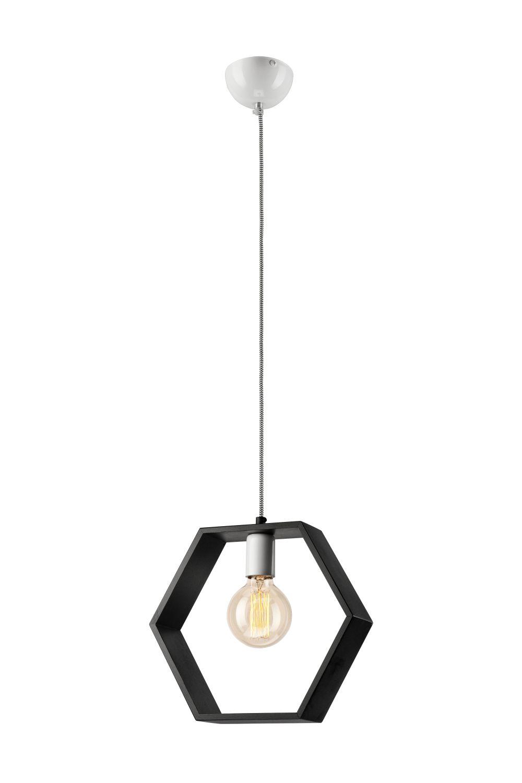 Hängeleuchte Esstisch Braun Holz Wohnzimmer Lampe