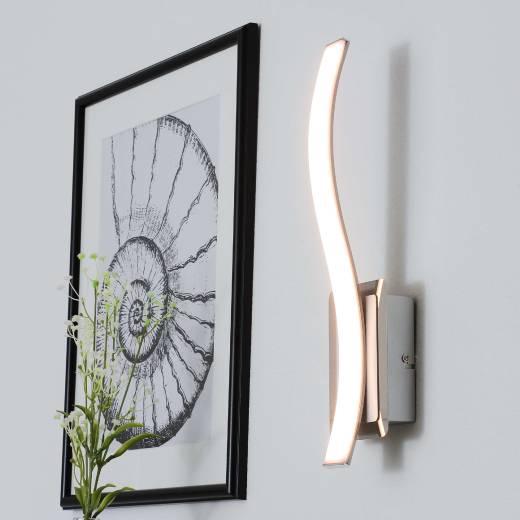 Design Wandlampe LED dimmbar Aluminium