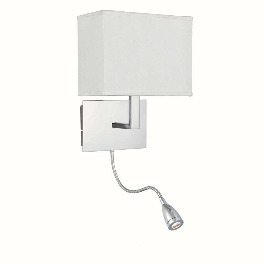 Eckige Bauhaus Wandlampe Bauhaus Chrom