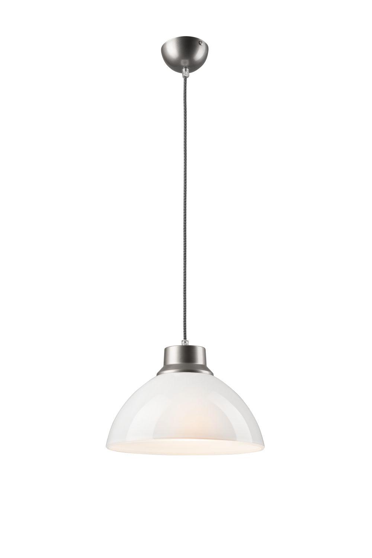 Esszimmer Lampe Pendelleuchte Chrom Glas Leuchte