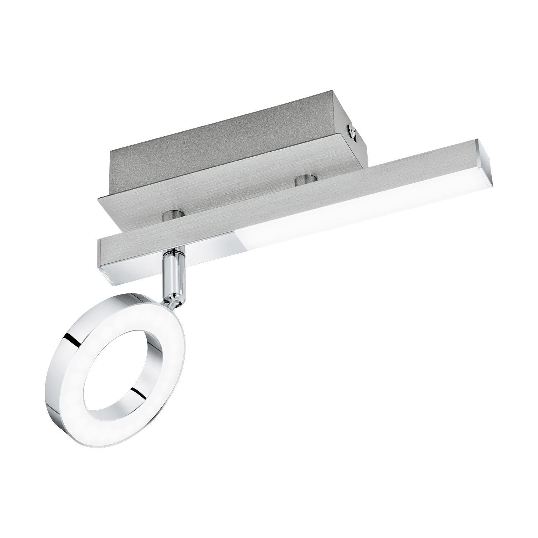 Aufbau LED Spotstrahler Cardillio 1 Chrom