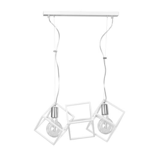 Hängelampe Weiß Modern Design verstellbar Esstisch