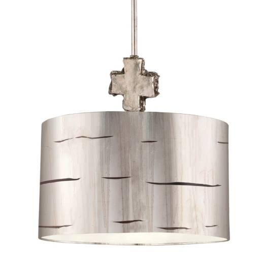 Deckenleuchte EXTRATO Blattsilber kürzbar Lampe