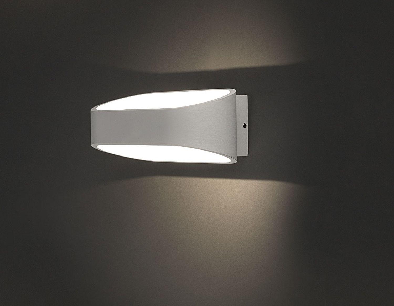 LED Wandleuchte Außen Weiß