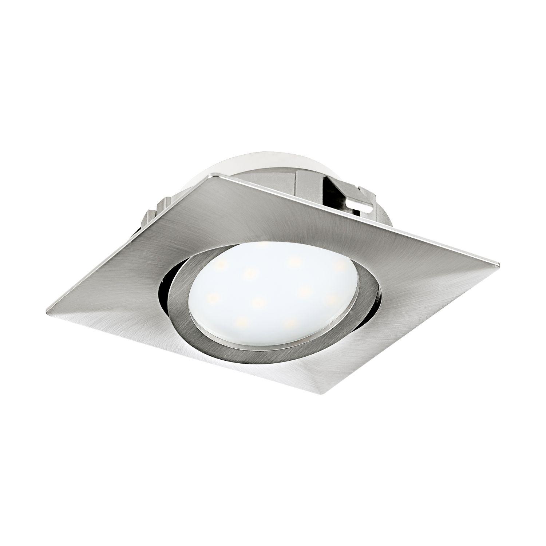 Schwenkbarer Einbau LED Spotstrahler Nickel-Matt
