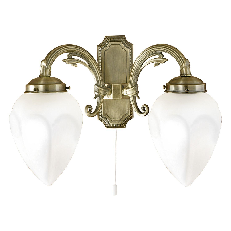 Wandlampe Imperial Weiß 2-Flmg