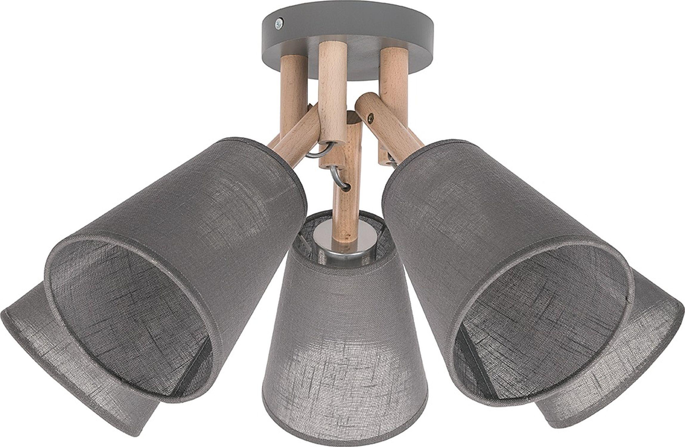 Deckenlampe VAIO Grau 5-flmg