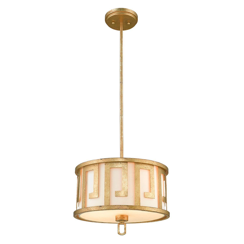 Deckenleuchte AIROSO Gold kürzbar Vintage Design