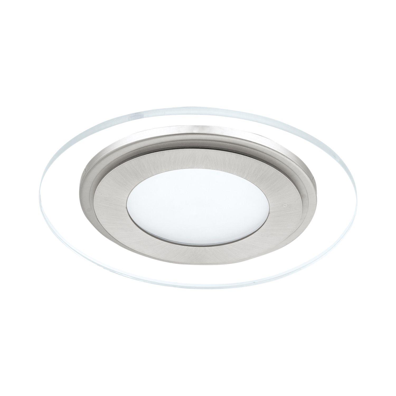 Einbau LED Spotstrahler Pineda 1 Nickel-Matt Ø15cm