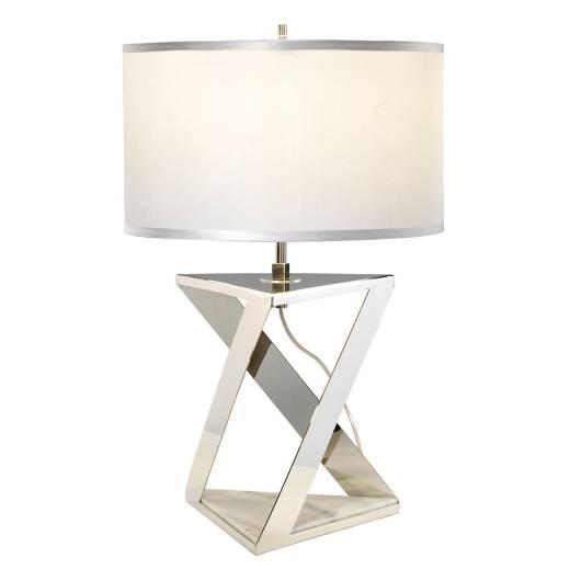 Designer Tischlampe Modern Marmor Fuß 71cm hoch MARBLE