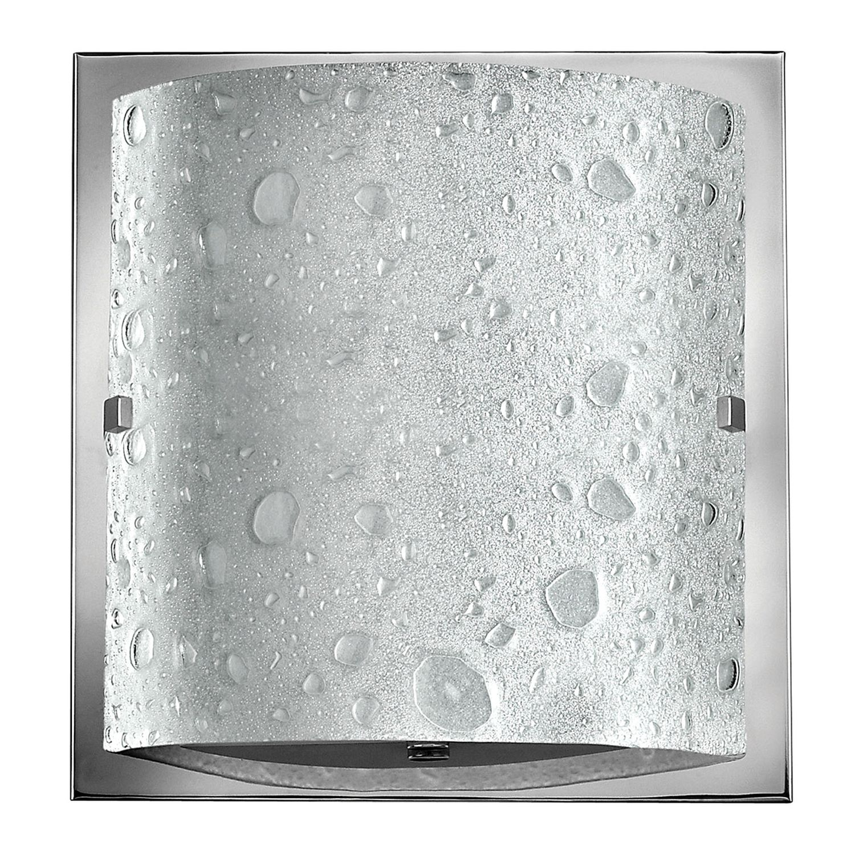 LED Badezimmer Lampe Glas IP44 spritzwasserdicht eckig